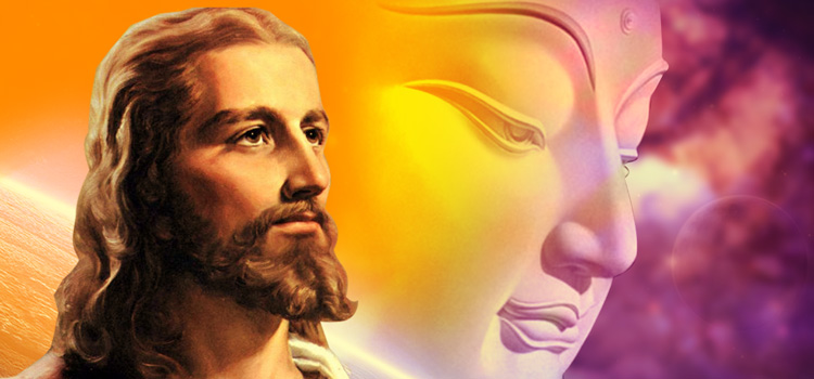jesus and buddha||conversation